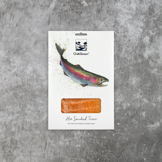 Hot smoked trout, the rural supply, drive through supermarket
