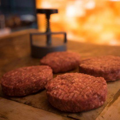 Beef Steak Burgers, The Rural Supply.