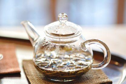 jasmine tea in pot